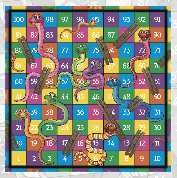 the snakes and ladders life